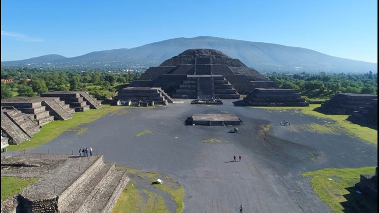 Ancient Mexican City of Teotihuacan Still Affecting Urban Environments Today