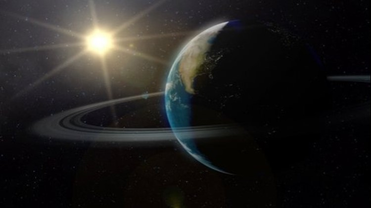 Saturn-Like Rings on Earth? What Would Our Planet Be Like if That Happened?