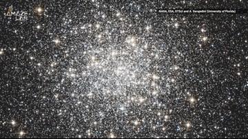 Hubble Captured A Sparkling Cosmic Gem
