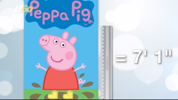 Peppa Big! Internet Claims Peppa Pig is a 7 Foot Tall Giant