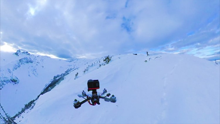 Flying High! Check Out This Amazing Drone Footage Through the Canadian Mountains!
