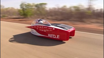 The Bridgestone World Solar Challenge Solar Car Race is Heating Up in Australia