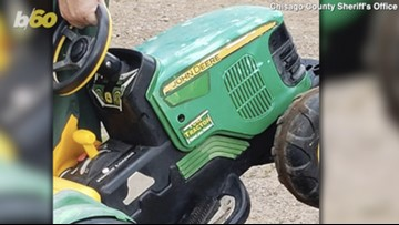 Minnesota Toddler Goes Missing, Takes Joy Ride In Battery Powered John Deere Tractor To County Fair!