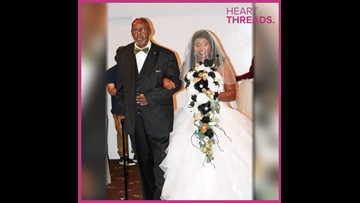 Dad gets new kidney in time to walk daughter down the aisle