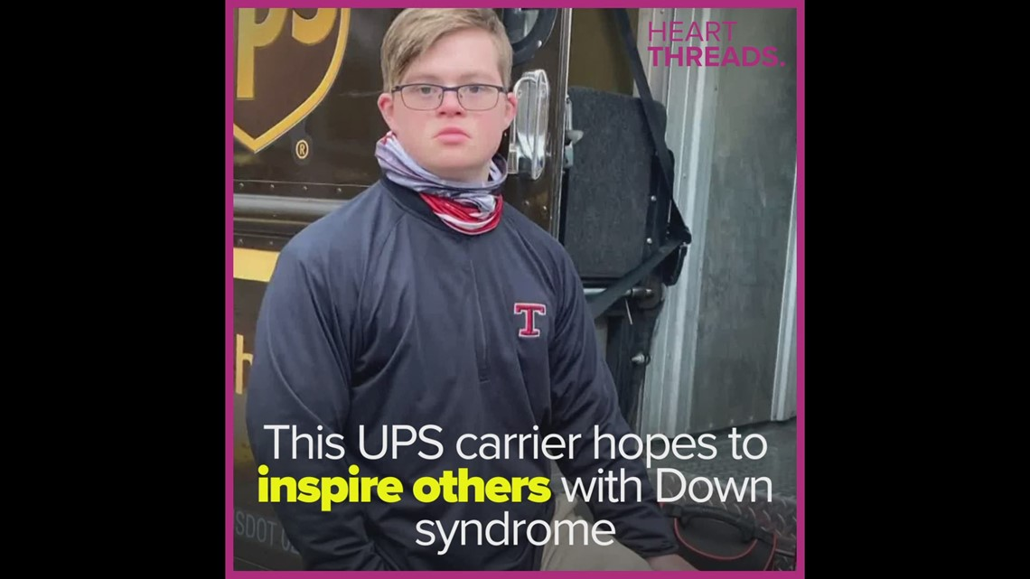 UPS carrier with Down syndrome inspires others