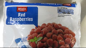 WinCo frozen raspberries recalled over Norovirus contamination