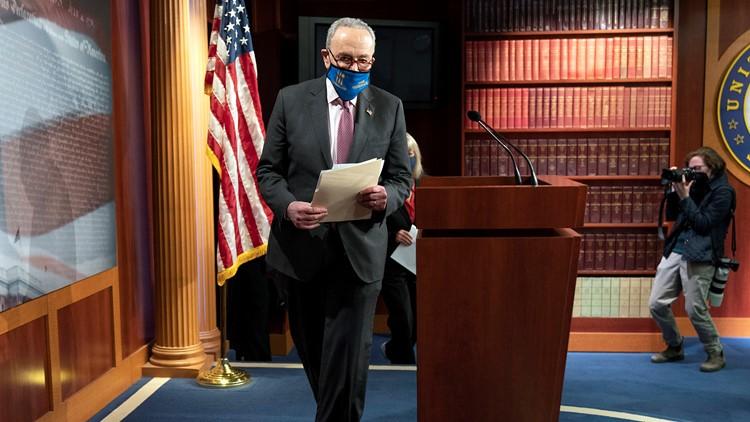 Senate debate on COVID bill, $1,400 checks may start today