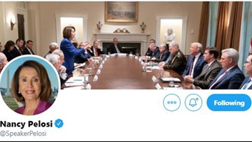 Trump tweeted photo of Pelosi 'meltdown.' She made it her Twitter cover