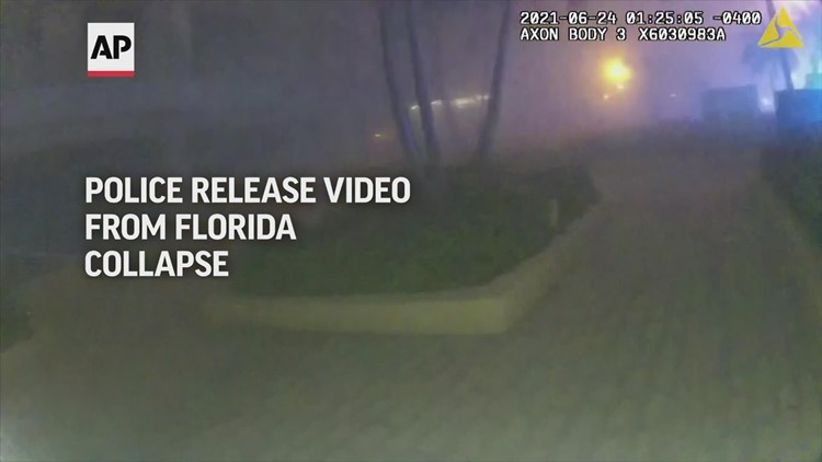 Florida condo collapse body camera footage released