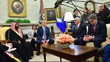 Trump defies calls to punish Saudi crown prince for Khashoggi murder