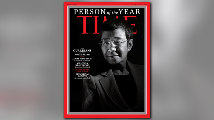 Maria Ressa TIME Magazine