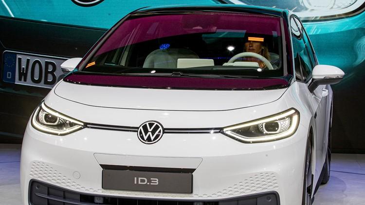 Germany IAA Auto Show new Volkswagen ID.3