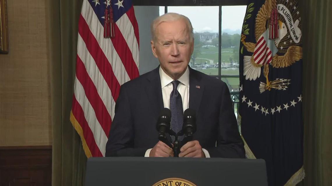 Biden announces final Afghanistan troop withdrawal to end 'America's longest war'