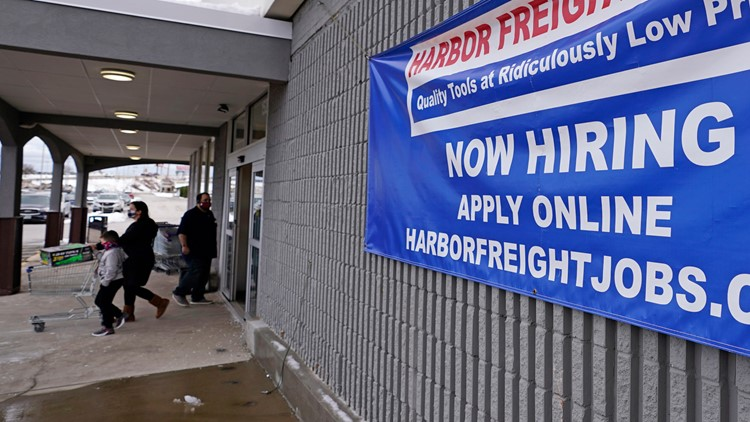 US jobless claims tick up to 745,000 as layoffs remain high