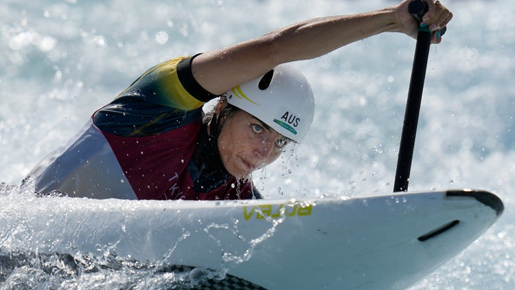 Australian Jess Fox fixed her kayak with a condom before winning medal