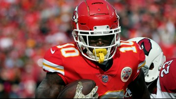 Chiefs' Tyreek Hill linked to domestic battery case
