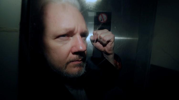 APTOPIX Britain WikiLeaks Assange