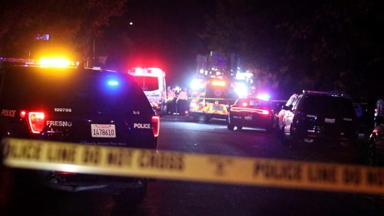 10 shot, 4 killed at backyard football party in Fresno, Calif.