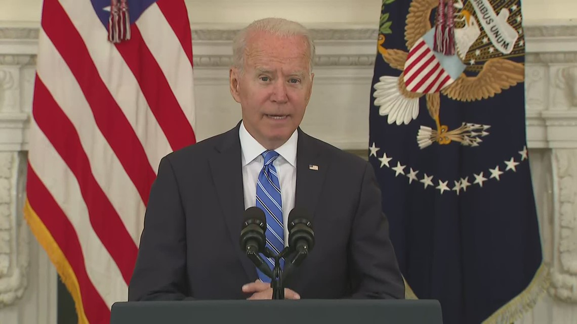 Biden talks job growth after six months in office