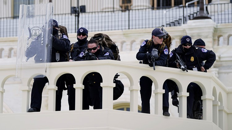 Missed intelligence, old and defective police equipment highlight Capitol riot internal report