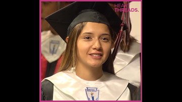 Girl graduates while father's incarcerated
