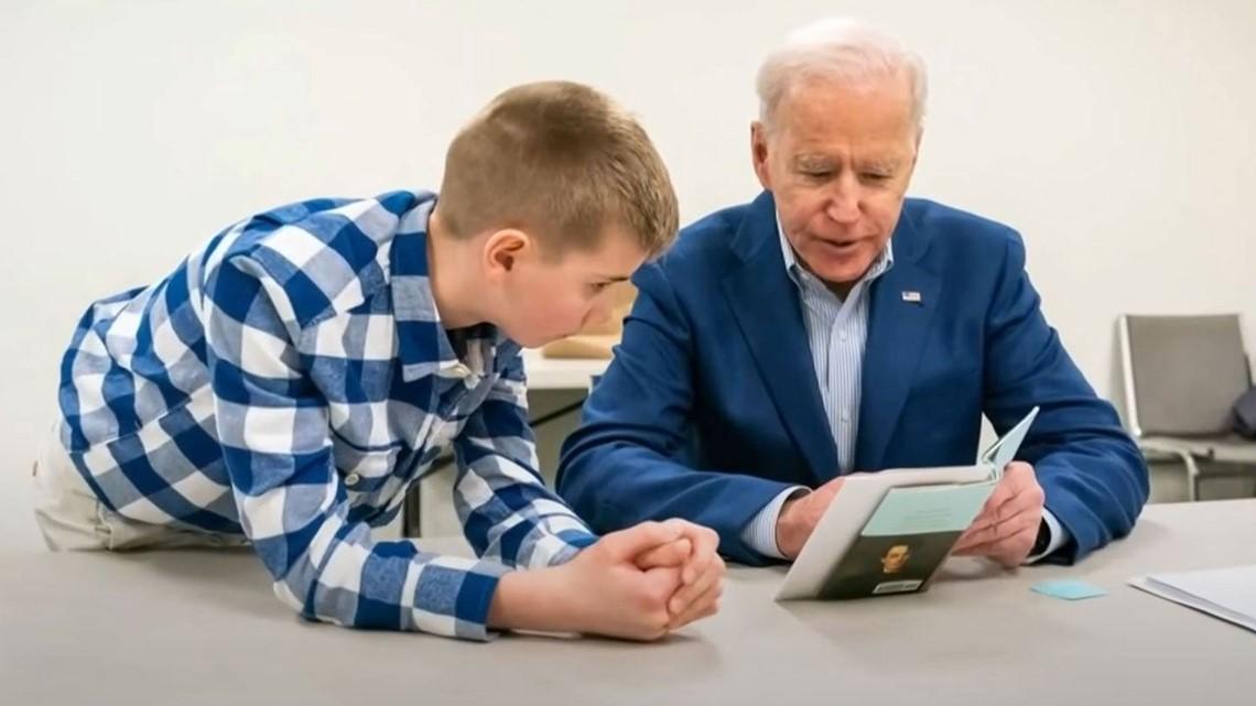 Joe Biden S Stutter Highlighted In 13 Year Old Boy S Inspiring Dnc Speech Ktvb Com
