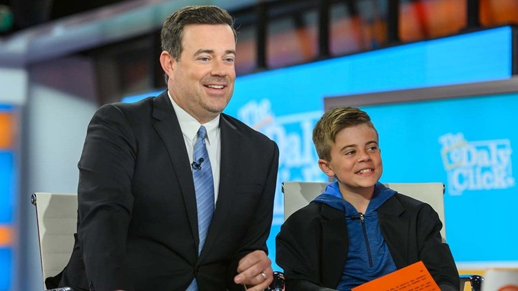 Carson Daly S Son Jackson Makes His Nightly News Debut And His