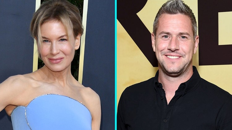 Ant Anstead Shares a Kiss with 'Magical' Renée Zellweger