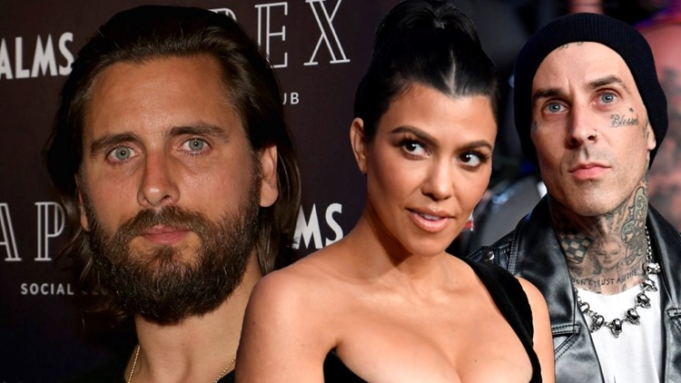 Scott Disick Is 'Stewing' Over Kourtney Kardashian and Travis Barker's Engagement, Source Says