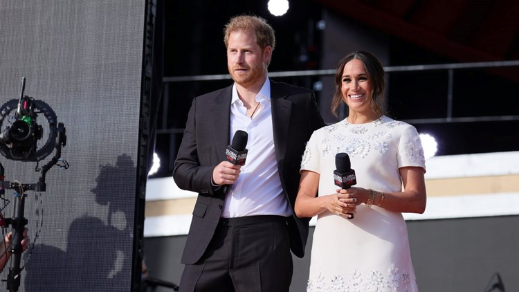 Meghan Markle and Prince Harry Attend Global Citizen Live to Promote COVID Vaccine Equality