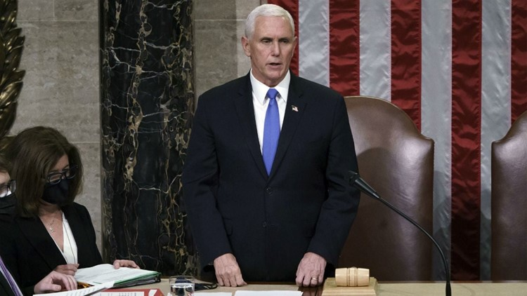 Mike Pence Announces Joe Bidens Victory After Congress