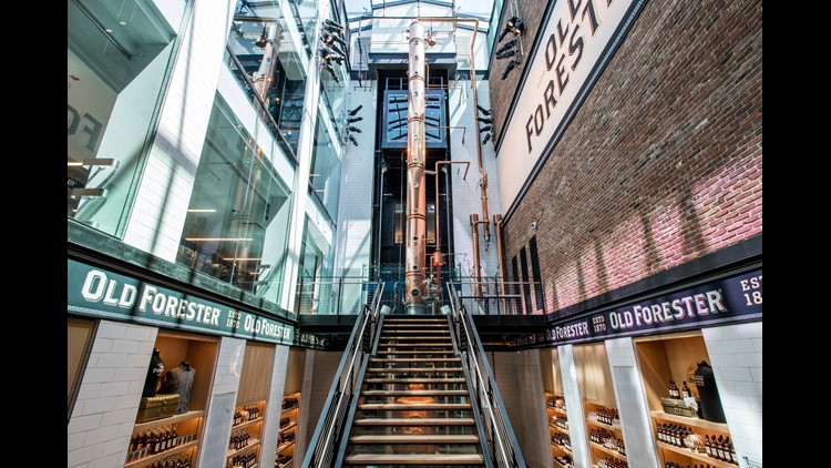 Old Forester returns to Louisville's Main Street with a new bourbon distillery tour and experience on historic Whiskey Row. Get a sneak peek inside.