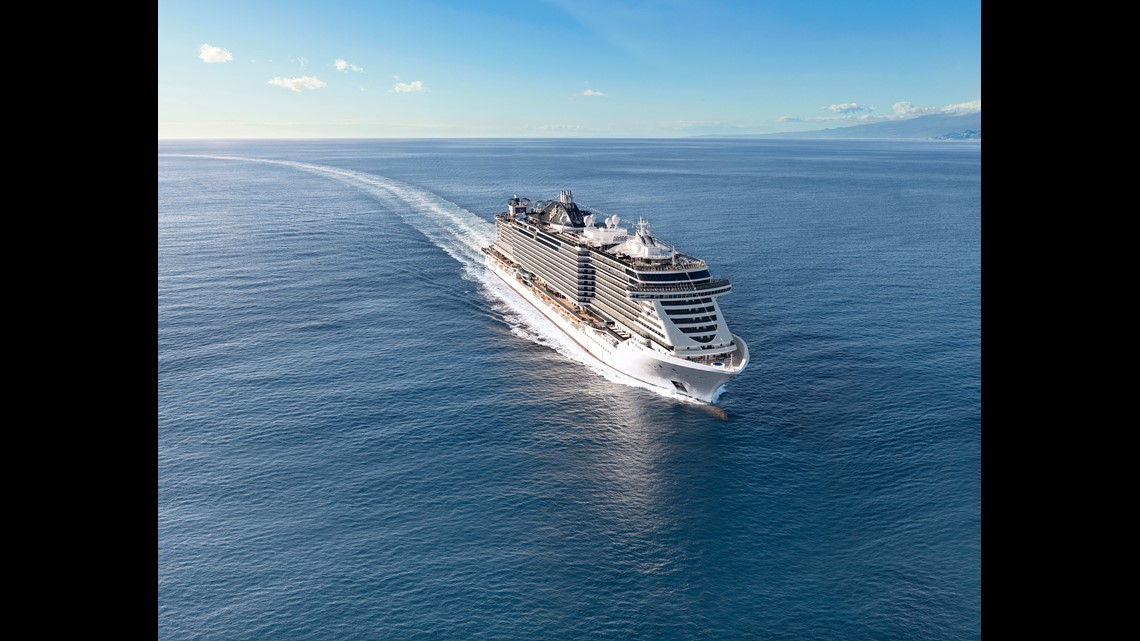 Fast-growing MSC Cruises unveils third giant new ship in a ...