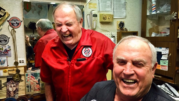 Twin barbers keep Fillmore County groomed and giggling