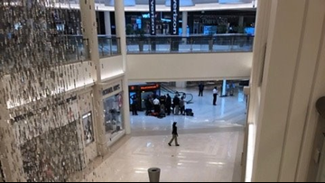 Child 'thrown' from third floor of Mall of America, suspect in custody
