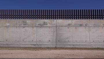 Border wall materials headed south to Texas border for February construction