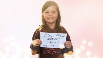 ETX child killed minutes after taking her first-day-of-school picture