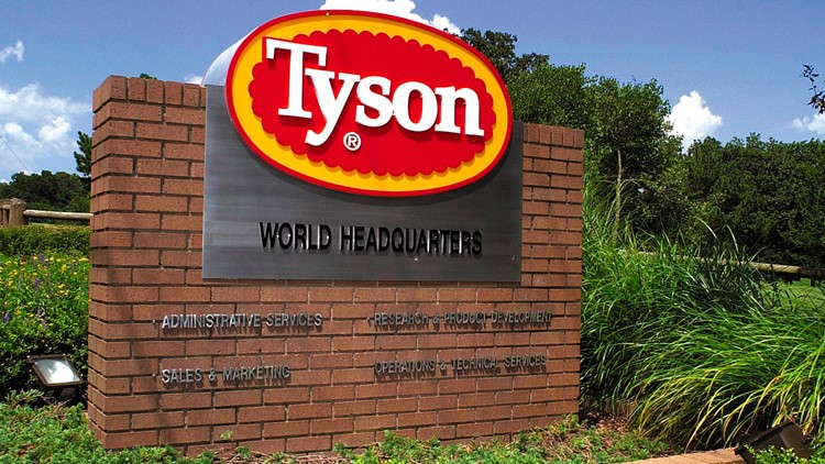 Tyson recalls nearly 9 million pounds of chicken due to listeria concerns