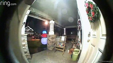 Crime against Christmas: Vandals attack inflatable yard decorations near Portland