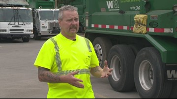 Garbage truck driver helped save 2-year-old boy hit by car