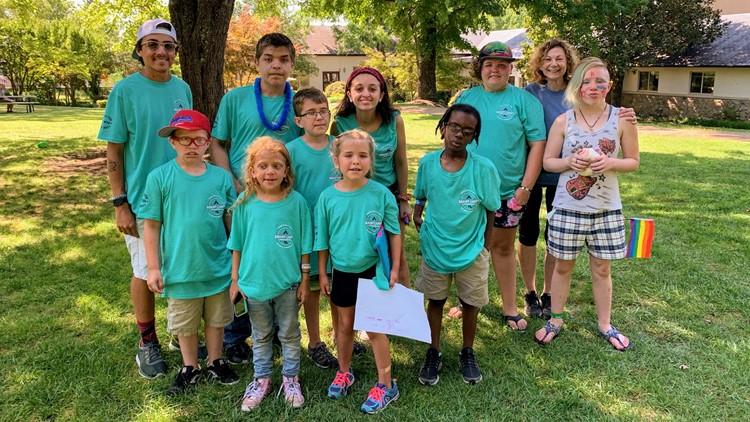 Children at Camp New Friends