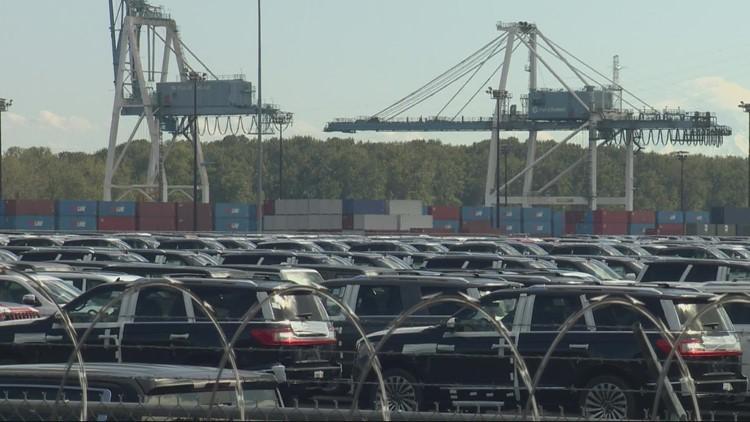 Ships coming to Portland to avoid long delays at California ports