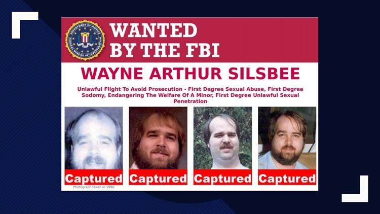 Wayne Arthur Silsbee FBI wanted poster