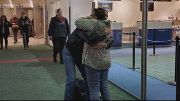 A Thanksgiving decades in the making: Mother and son reunite after nearly 60 years apart