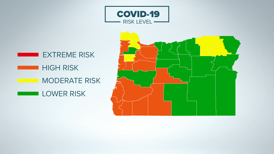 'We are at a critical moment in this pandemic': Here are the current Oregon COVID risk levels