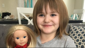 4-year-old Oregon City girl overcomes cancer after two surgeries, 24 rounds of radiation