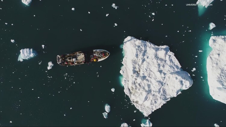 University of Oregon researcher to study trickle-down effect of melting Greenland glaciers