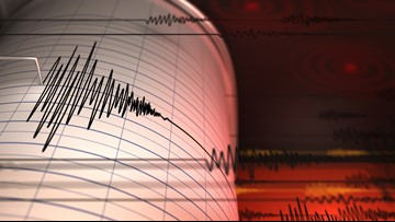 5 earthquakes, the largest a 4.5, recorded off S. Oregon coast