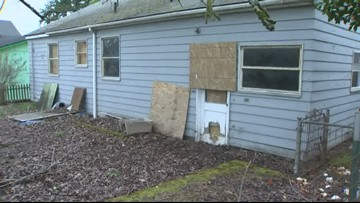 'They had the locks changed': Squatters stake a claim in vacant North Portland house