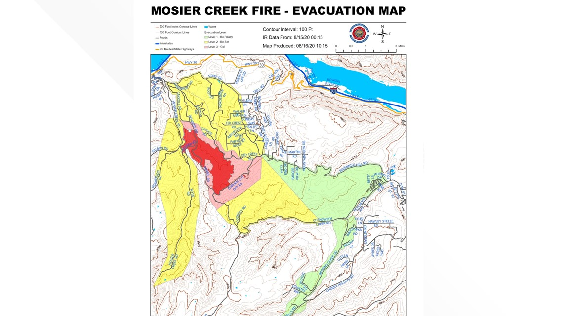 Image of: Wildfire Spreads Near Mosier In Oregon S Columbia River Gorge Ktvb Com